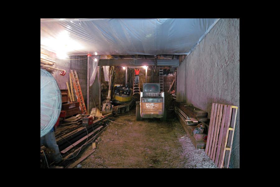 Underground Garages Underground Structures San